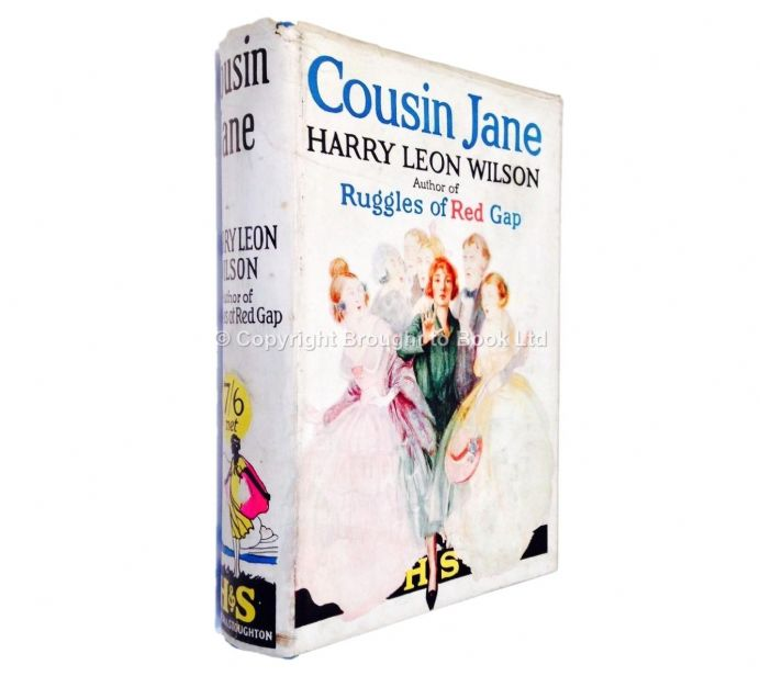 Cousin Jane by Harry Leon Wilson First Edition Hodder & Stoughton 1925